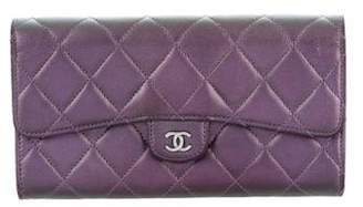 Chanel 2017 Quilted Iridescent Wallet