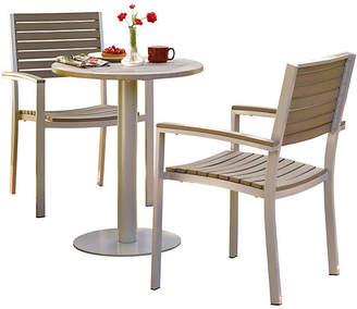 Oxford Garden Amanda 3-Pc Bistro Table Set