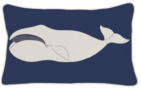 Thomas Paul Baleen Outdoor Pillow