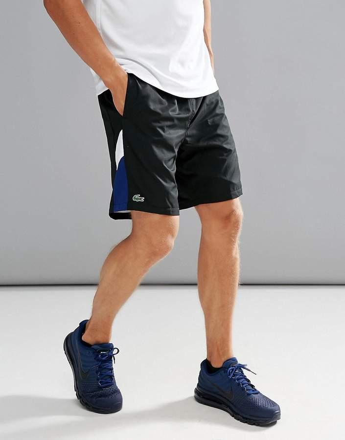 Lacoste Sport Tech Running Shorts in Black