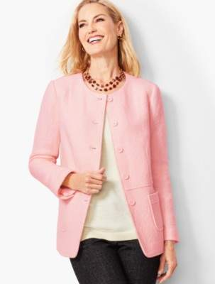 Talbots Boiled Wool Jacket - Solid