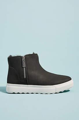 J/Slides Poppy Faux Fur-Lined Sneakers