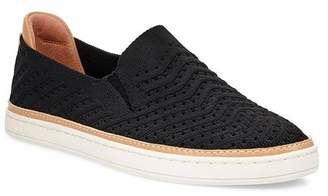 UGG Women's Sammy Chevron Knit Slip-On Sneakers