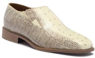 Giorgio Brutini Felix Plain Toe Genuine Snakeskin Slip-On Loafer