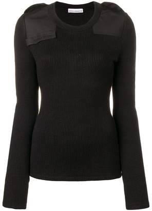 Paco Rabanne padded knit jumper