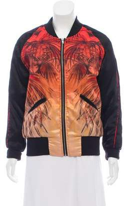 IRO Printed Bomber Jacket