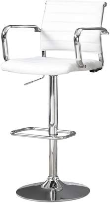 Monarch Two-Piece Faux Leather Bar Stool Set