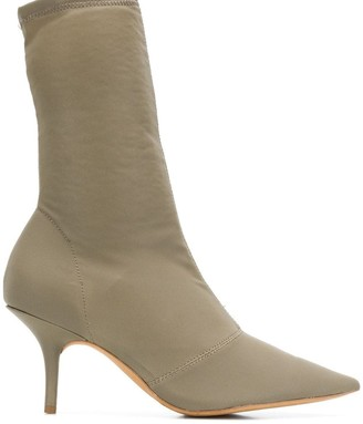Yeezy Stretch Canvas ankle boots