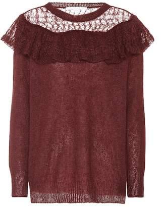 Stella McCartney Knitted mohair-blend top