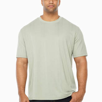 Claiborne Short Sleeve Crew Neck Moisture Wicking T-Shirt-Big and Tall