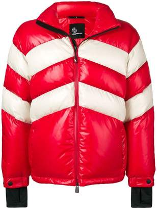 Moncler two-tone padded jacket
