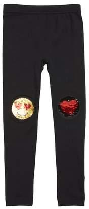 Capelli New York Smiley Heart Sequined Leggings
