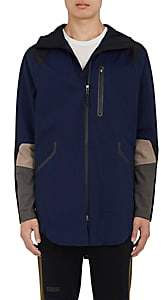 Dyne Men's Ingles Matte Tech-Twill Anorak-Navy Size S