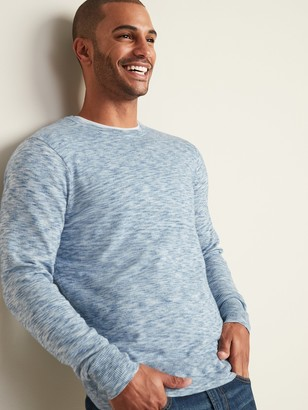 Old Navy Space-Dyed Crew-Neck Sweater for Men