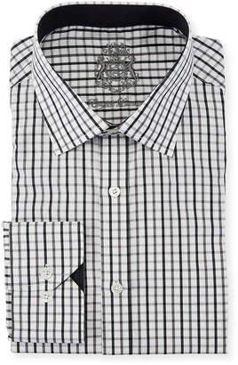 English Laundry Classic-Fit Check Dress Shirt
