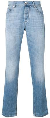 Brunello Cucinelli faded washed jeans