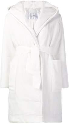 Max Mara hooded padded jacket