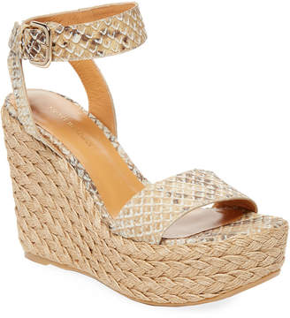 Stuart Weitzman Let's Dance Wedge Sandal
