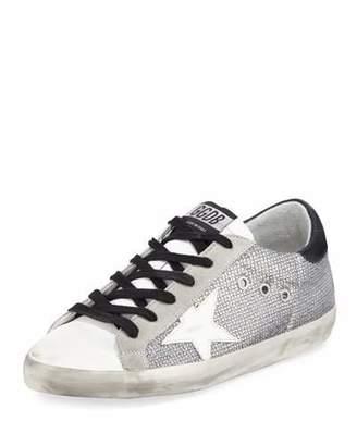 Golden Goose Superstar Sparkle Low-Top Sneakers