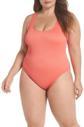 Bikini Lab The Rib-Thym One-Piece Swimsuit (Plus Size)