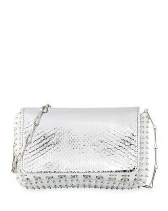 Paco Rabanne 1401 Classic Link Mini Python Shoulder Bag