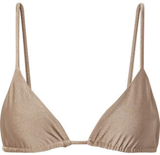 JADE SWIM Via Bikini Top - Beige