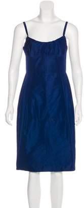 Lida Baday Satin Knee-Length Dress