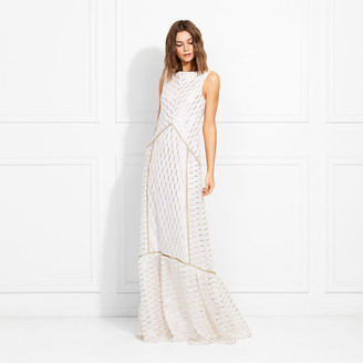 Rachel Zoe Laurent Fil Coupe Gown