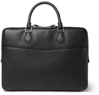 Dunhill Boston Full-Grain Leather Briefcase