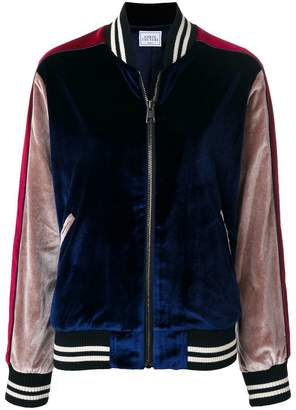 Couture Forte Dei Marmi panelled tiger bomber jacket