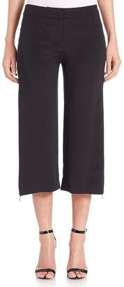 Cushnie et Ochs Women's Cropped Zip-Detail Pants