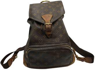 Louis Vuitton Montsouris Cloth Backpack