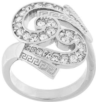 Versace embellished Baroque ring