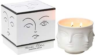 Jonathan Adler Muse Blanc Ceramic Candle
