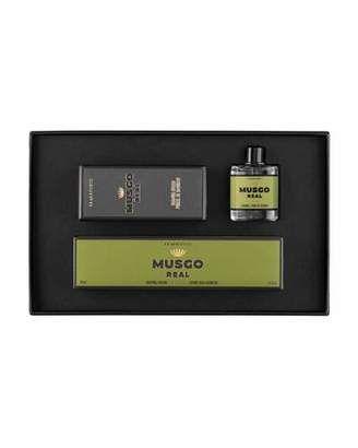 Musgo Real Classic Mini Cologne, Shaving Cream and Brush Set