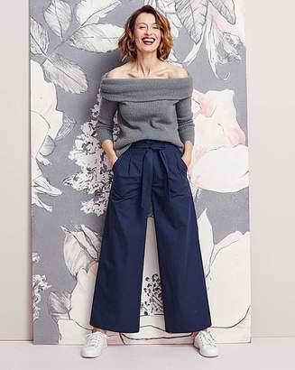 Fashion World Tie Waist Wide Trouser