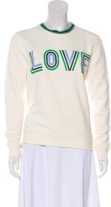 Tory Sport Graphic Knit Sweatshirt
