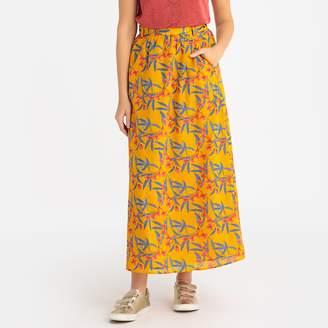 Harris Wilson Clodia Floral Print Long Skirt