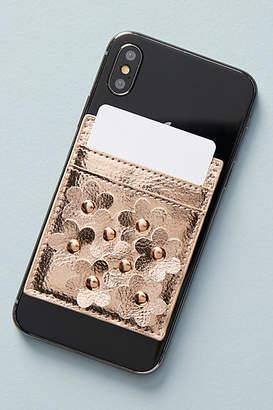 Anthropologie Embellished Smartphone Adhesive Card Holder