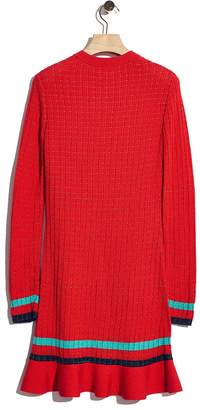 3.1 Phillip Lim Smocked long-sleeve dress