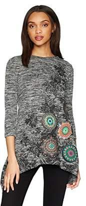 Desigual Women's Hawhan 3/4 Sleeve t-Shirt