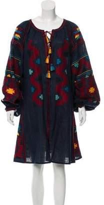 Vita Kin Embroidered Linen Dress