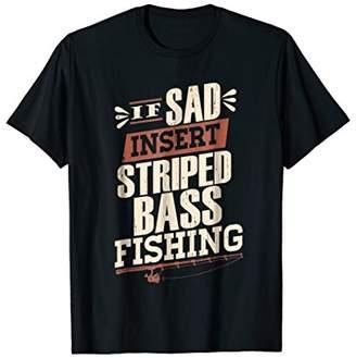 Striper Bass Fishing TShirt Funny Vintage Fisherman Gift