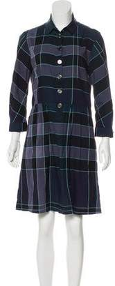 Burberry Nova Check Knee-Length Dress