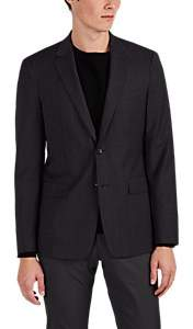 Theory MEN'S WELLAR PLAID WOOL TWO-BUTTON SPORTCOAT