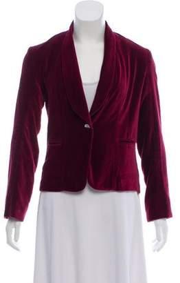 Matta Velvet Shawl Collar Blazer