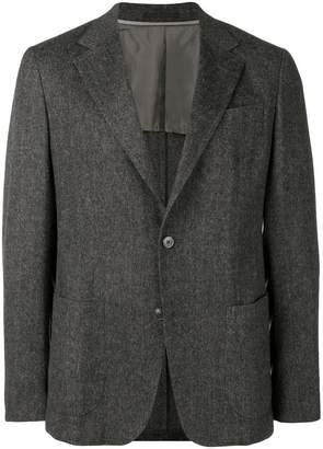 Ermenegildo Zegna herringbone tweed jacket