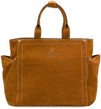 Vivienne Westwood large pocket tote bag