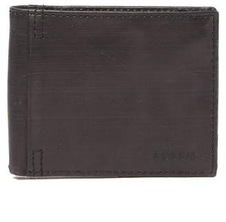 Fossil Wallace Traveler Leather Bifold Wallet