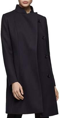 Reiss Lacey Longline Wool Coat
